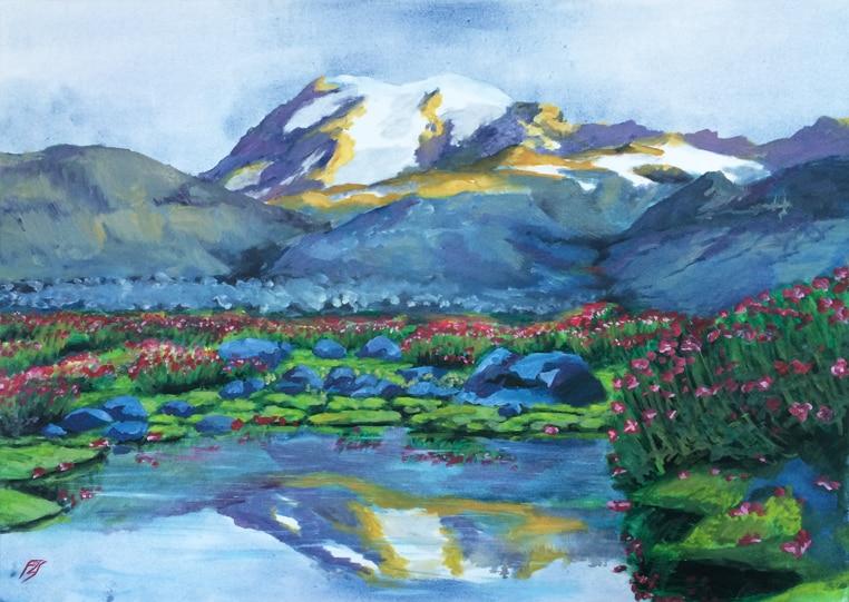 Falikép festmény ár