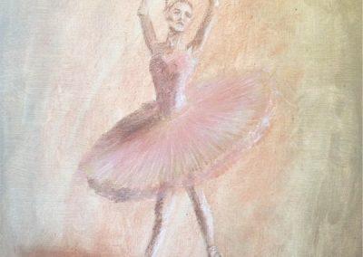 balerina festés
