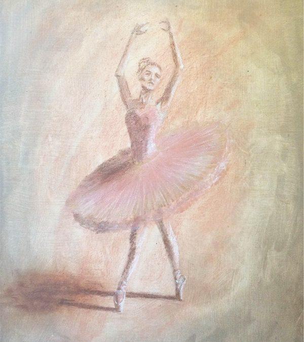 Balerina – festmény